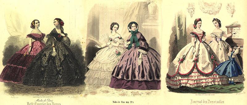 Женщины дворянки в первой половине 19 века